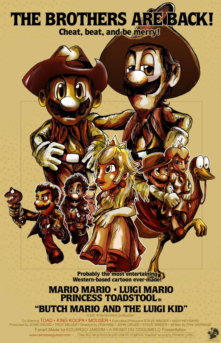 Butch Mario and the Luigi Kid
