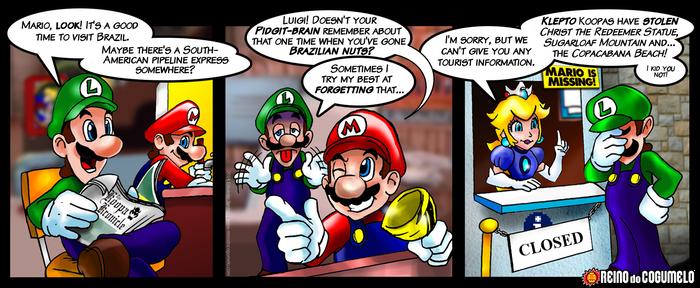 Luigi's Memories of Rio de Janeiro