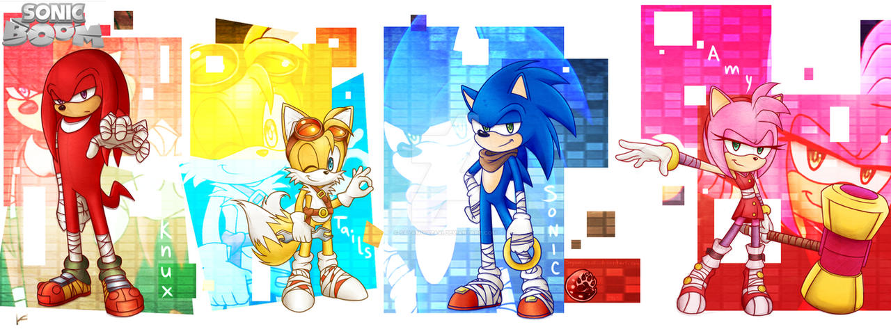 Sonic Boom by Sayamiyazaki