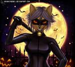 Lily As Chat Noir by Sayamiyazaki