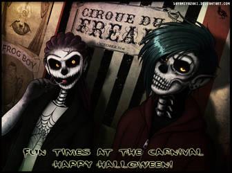 Halloween Carnival by Sayamiyazaki