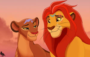 Queen Rani and King Kion