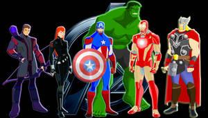 Avengers by MOMOpJonny