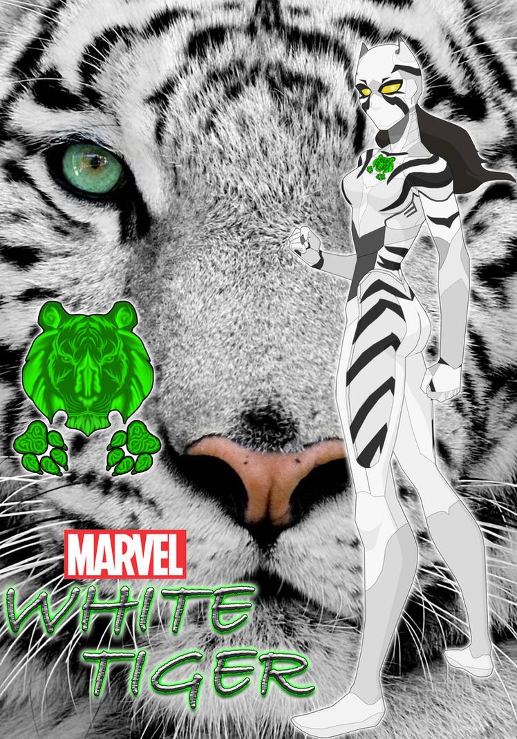 Best Wallpaper Marvel White Tiger - white_tiger_redesign__what_if____mcu_suit_design___by_momopjonny-d8yu14k  Image_771192.jpg