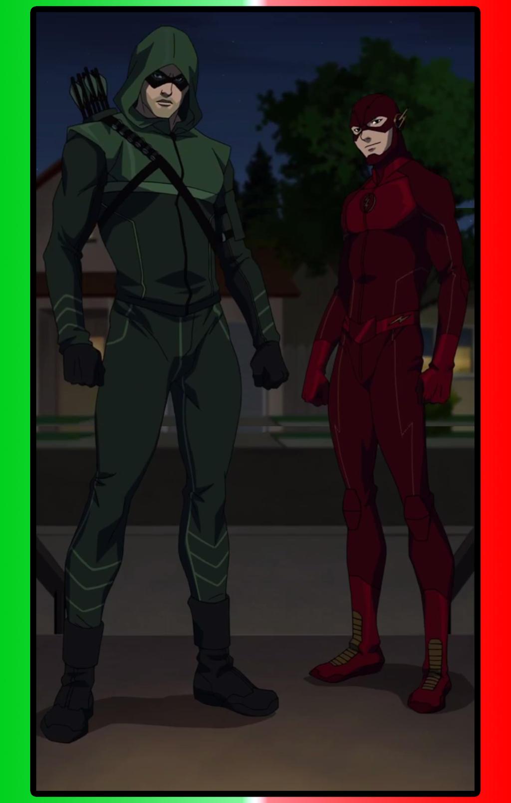 Arrow+Flash animated by MOMOpJonny on DeviantArt