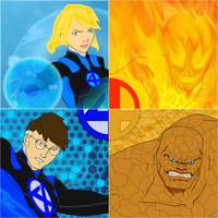 The Fantastic 4FOUR by MOMOpJonny