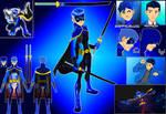 OC Superhero- SWORDS