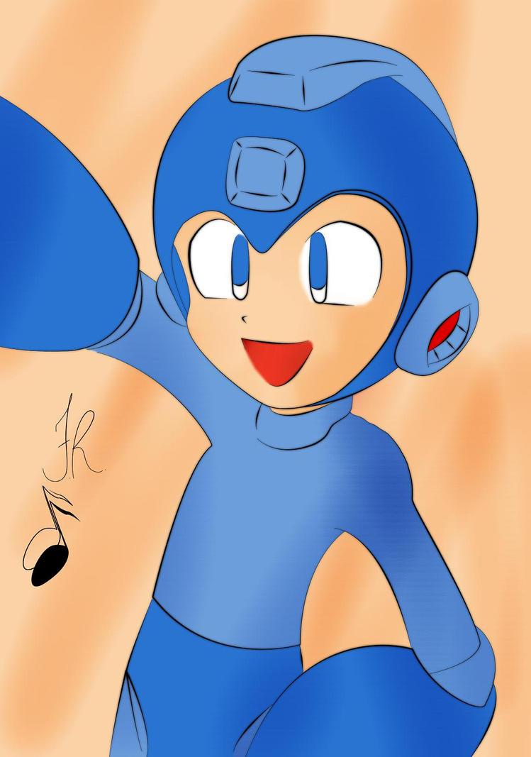 Megaman by FrancR