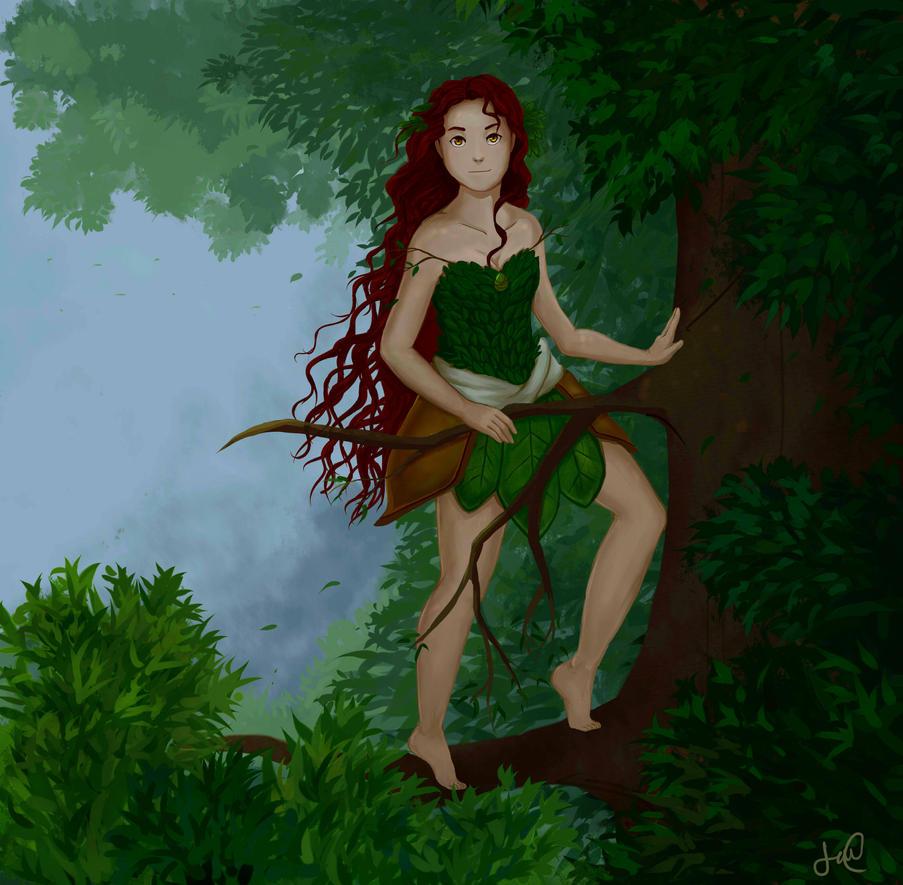 La bruja del bosque by TheTealWind