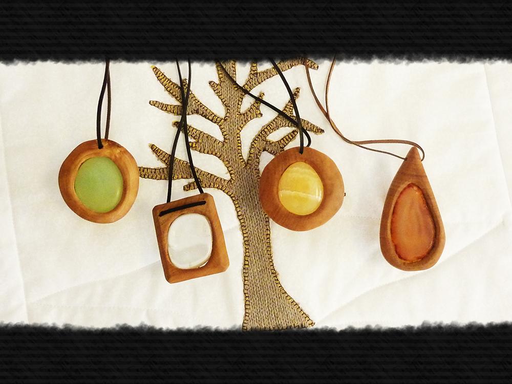 Wooden gems by Squirrel-slayer