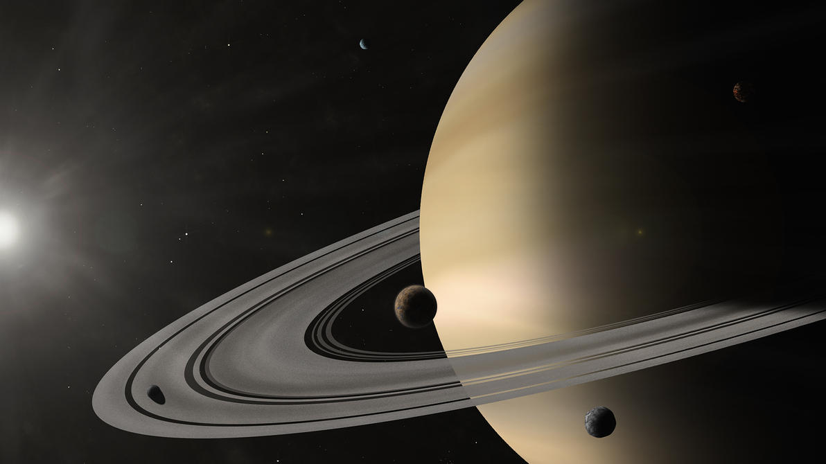 Saturn by Squirrel-slayer