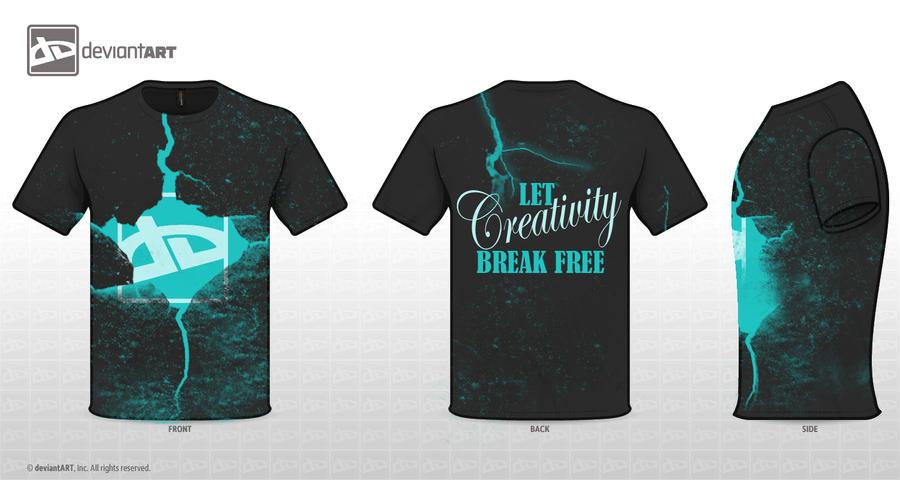 Let Creativity Break Free by x-kuroi-x-ame-x