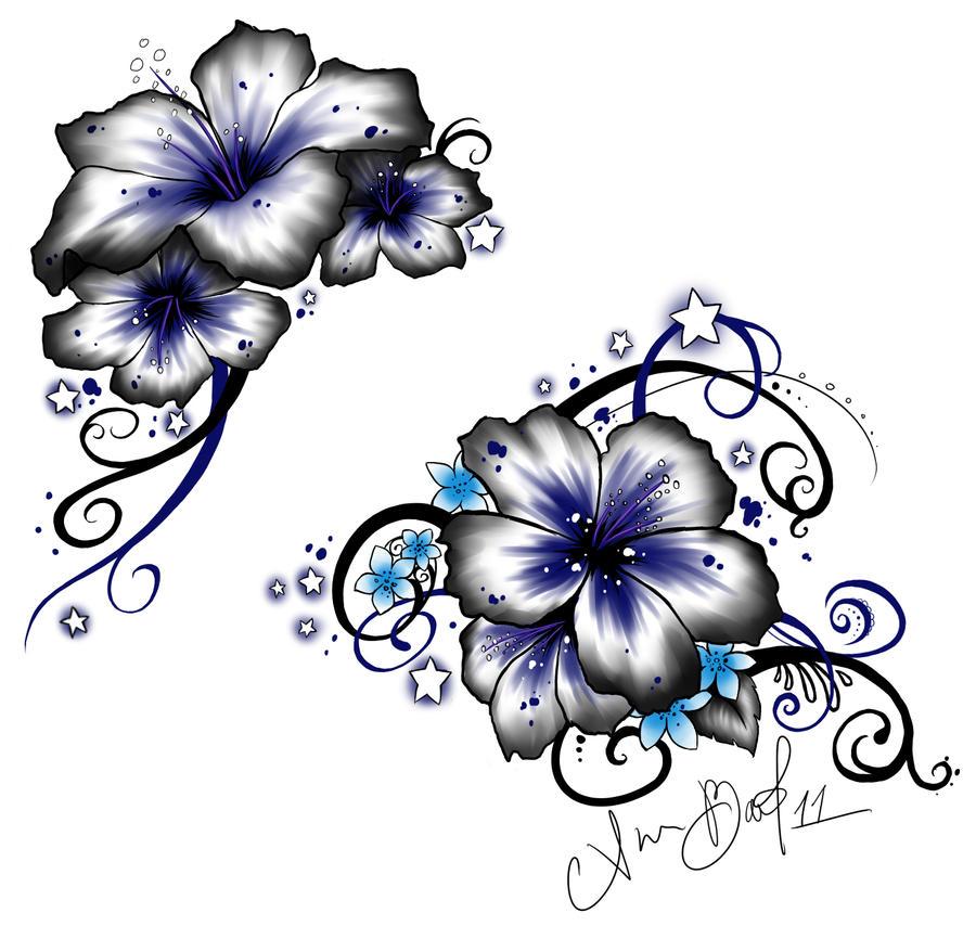 Hibiscus Tattoo by Kuragarikurasu on DeviantArt