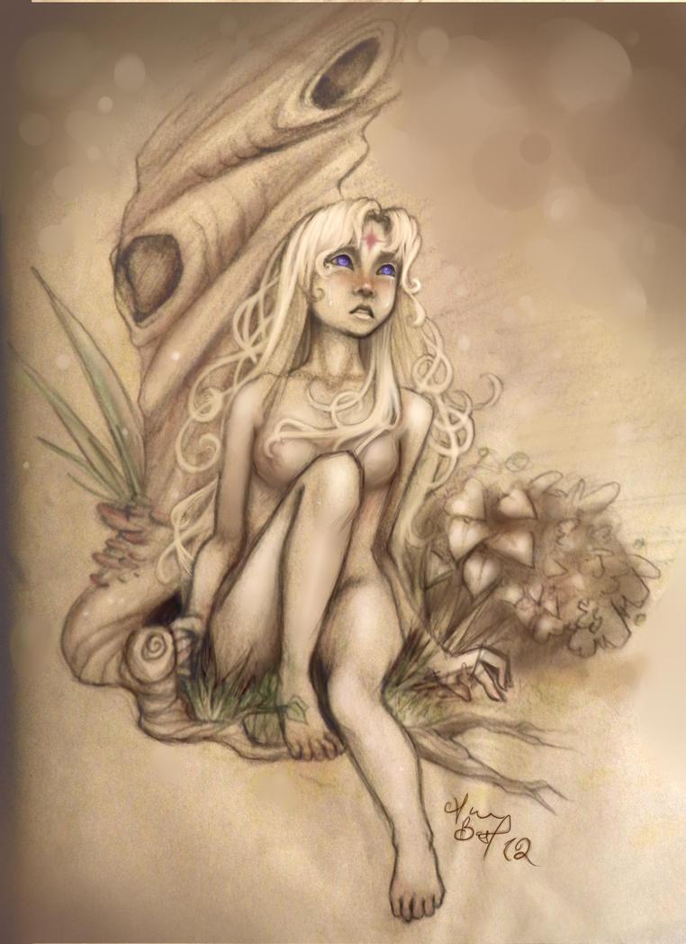 The Lady Amalthea by Kuragarikurasu