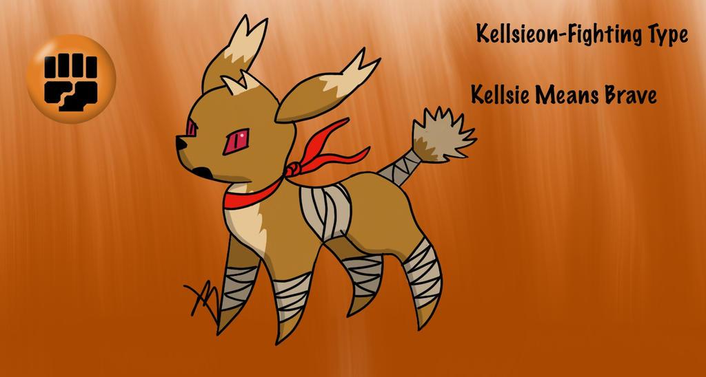 Kellsieon-Eeveelution Fighting Type by MorgiePdiddle on ...
