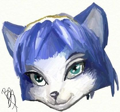 krystal's head by BlackBy