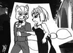 Fox and Krystal in gala