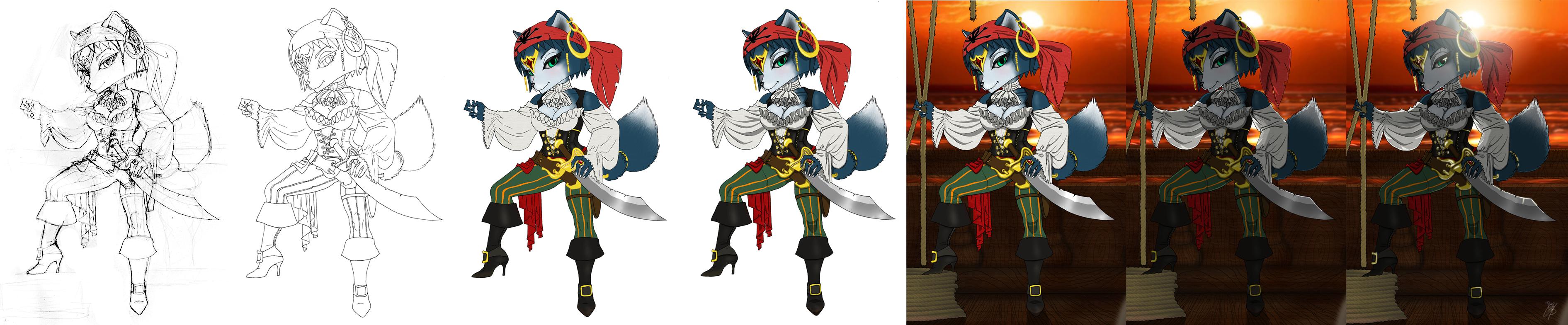 Krystal Pirate progress by BlackBy