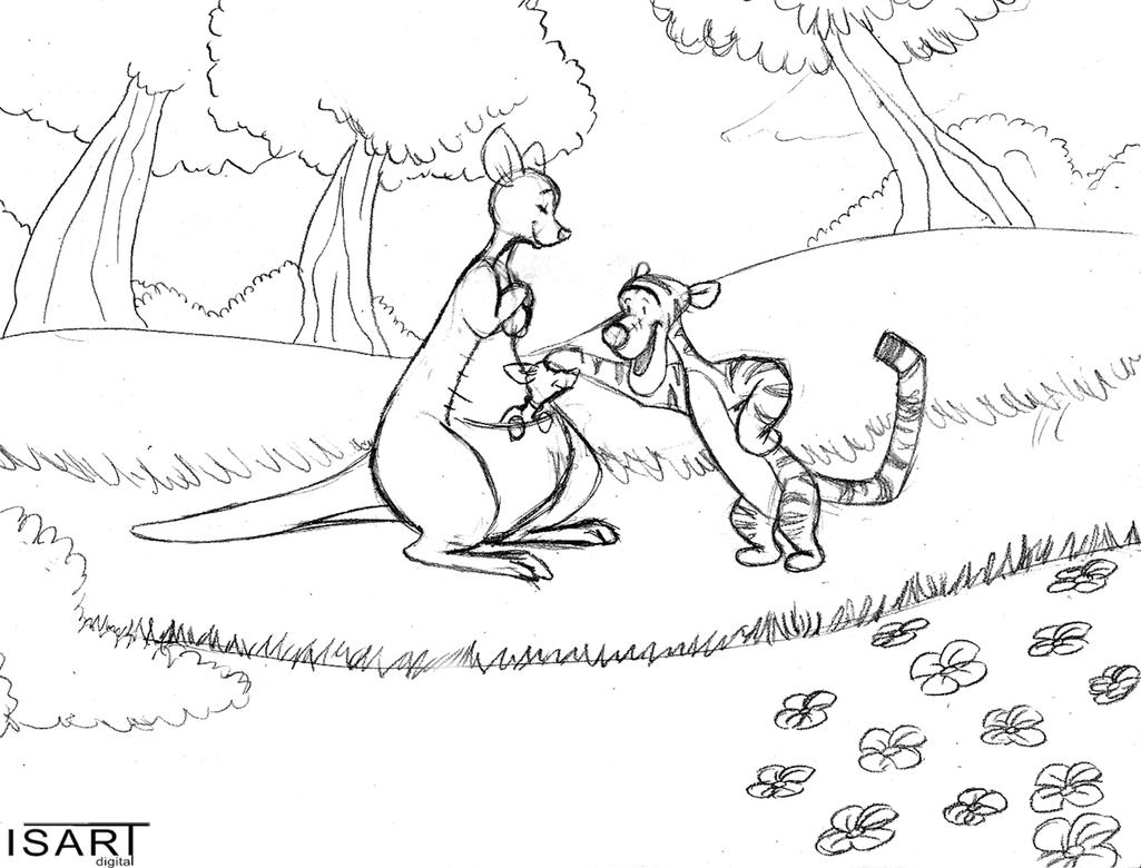 Winnie the Pooh world by BlackBy