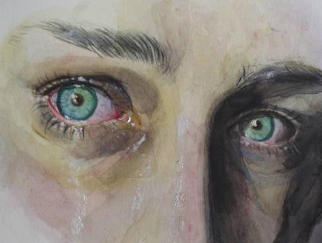 Watercolors study - eyes
