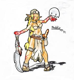 Andalie the Sacrier