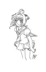 Sakura summer uniform