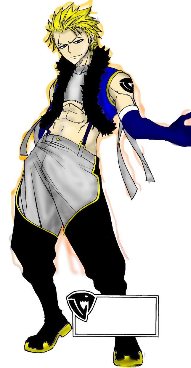 Fairy tail Sting colored by Belkace on DeviantArt