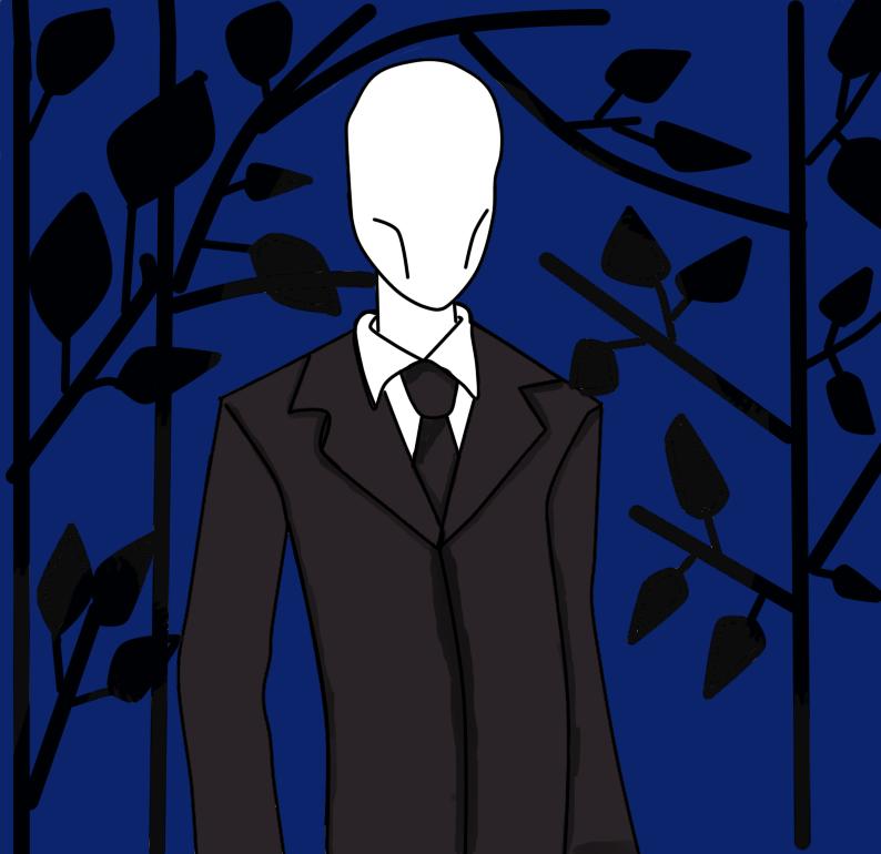 slender man by Aholeon