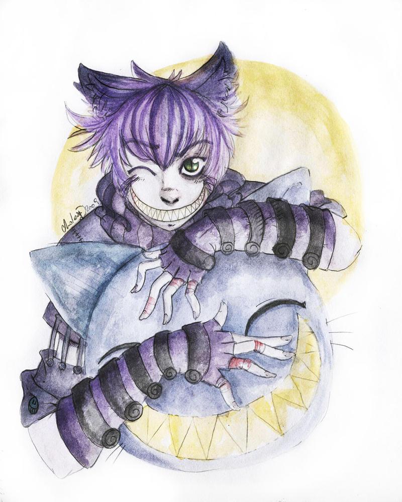 Résultat d'images pour cheshire cat manga