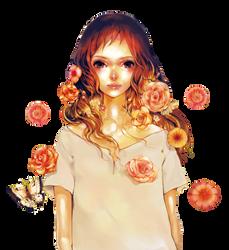 Flowers by pustakkeramzytowy