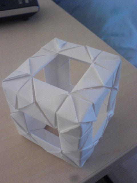 Origami Squareing By Bloodypaperangel On Deviantart