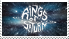Rings Of Saturn Stamp by IndustriousRage