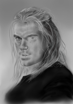 Henry Cavill as The Witcher, WIP