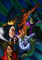Disney Villains by JulianDeLio