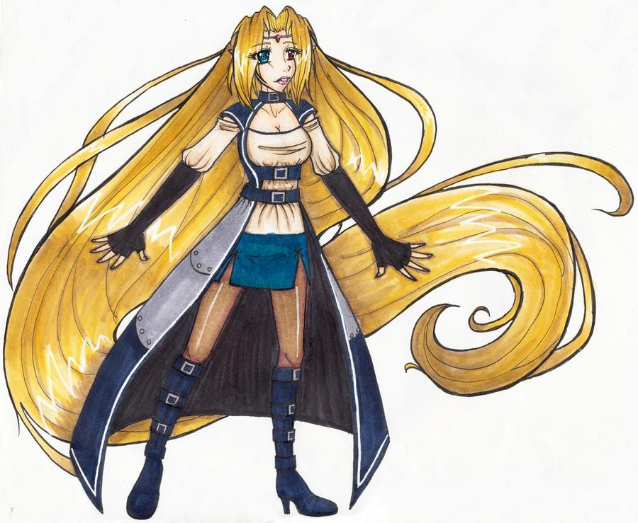 Huntress Eiyanga - New Outfit by Elliyos