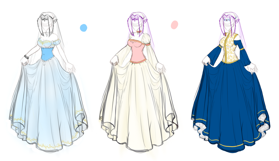 Old Time Dresses