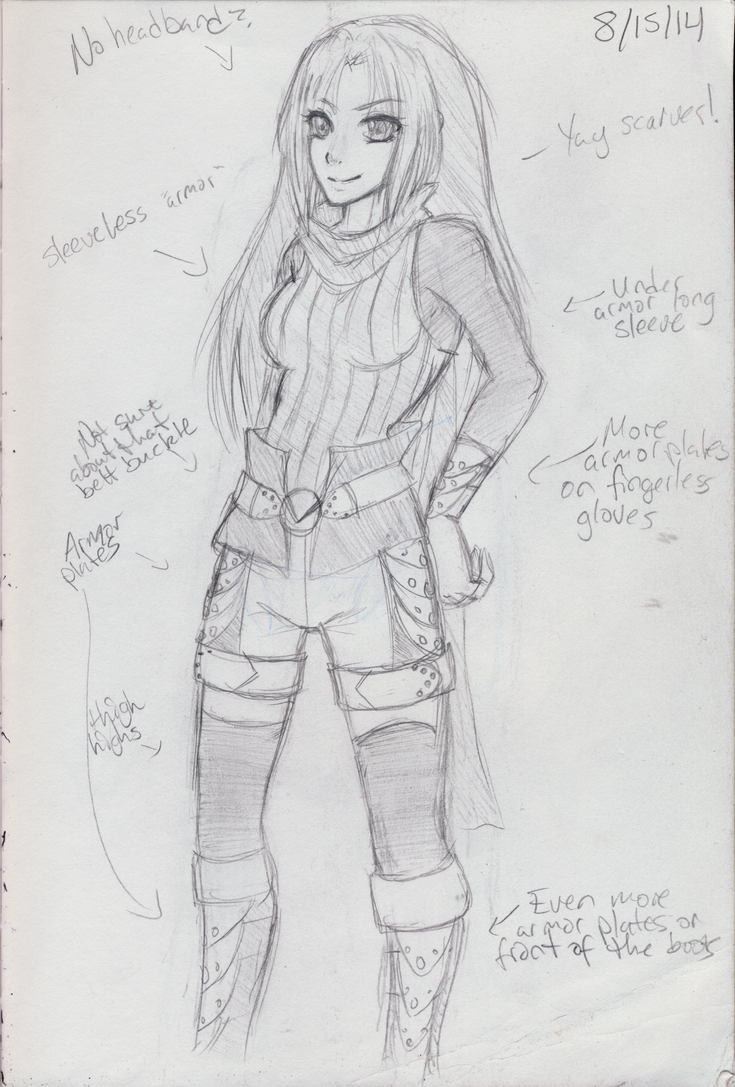 Akune -sketch- by Elliyos