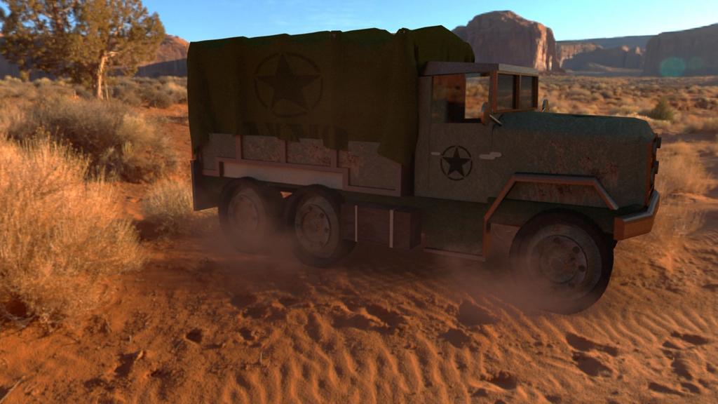 Desert Ride by Kjeld10