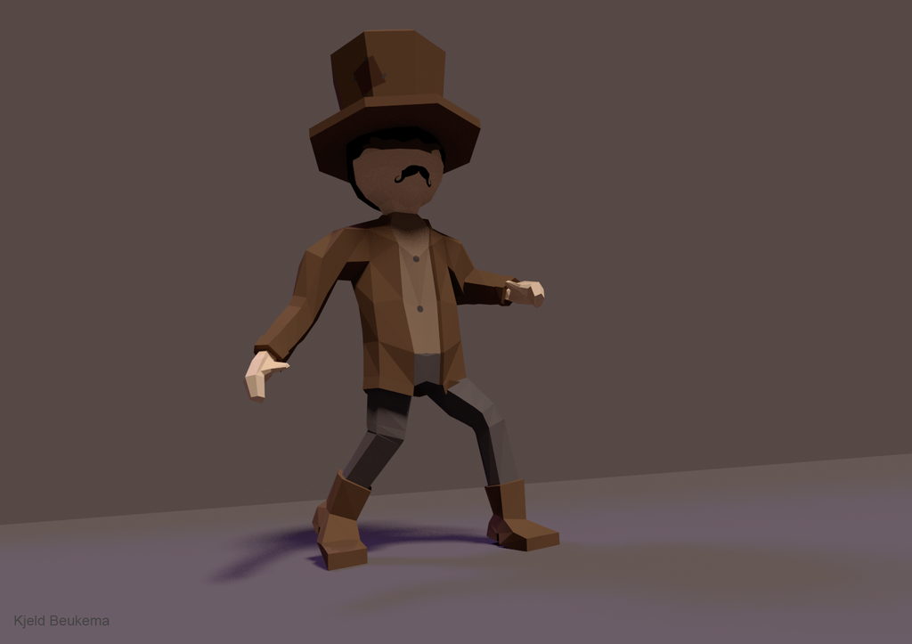 Low Poly Character by Kjeld10