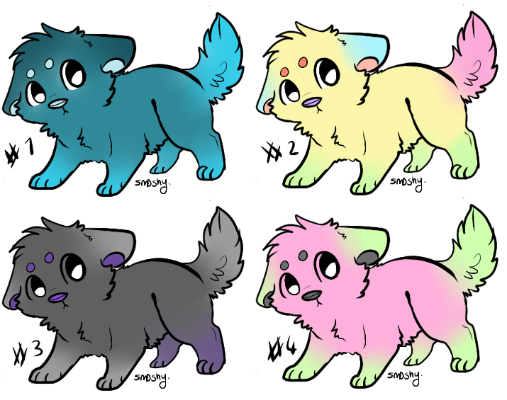 Adopts #1 by Luna-the-pup