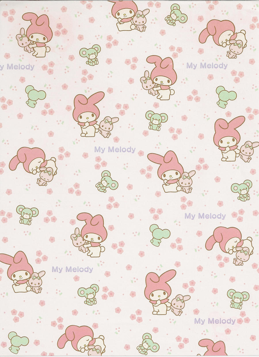 My Melody sheet 2 by lefifistock on DeviantArt