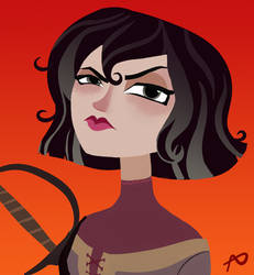 Cass (Tangled: the Series) by drawingfreak50187