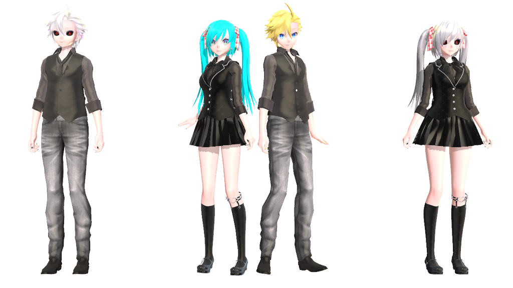 Mmd Police Outfit