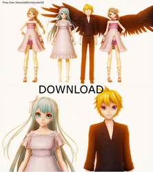 [MMD +Model DL ] The name of the sin (Tsumi) by 01mikuxlen02