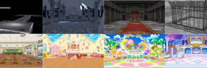 [MMD+LIMITED DL] CGSS Stages by 01mikuxlen02