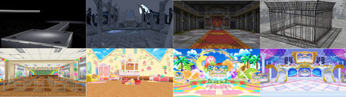 [MMD+LIMITED DL] CGSS Stages