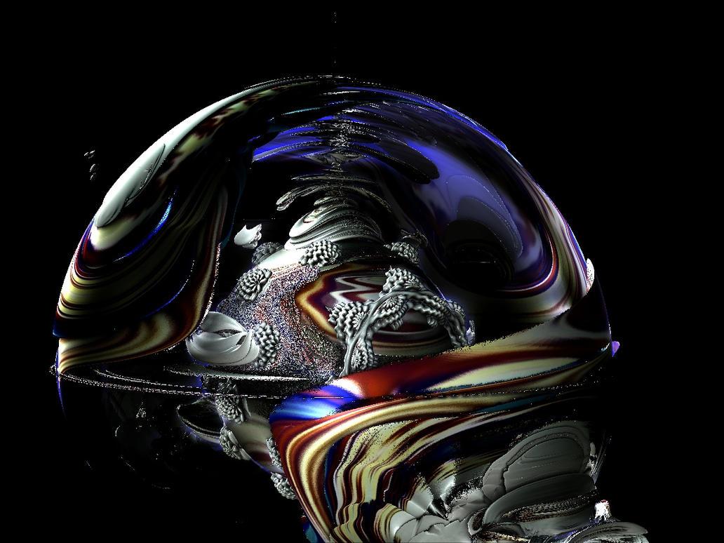 Captain M Debulb A. I. deep space pilot by mrdeforrest