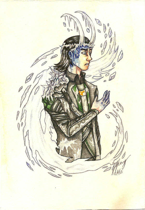 Frosted Loki by DominiqueDuong