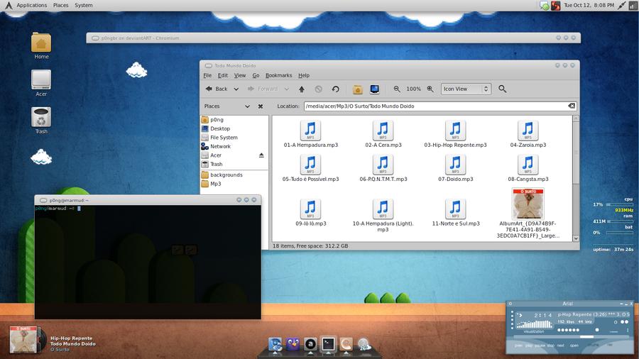 Desktop de outubro by p0ngbr