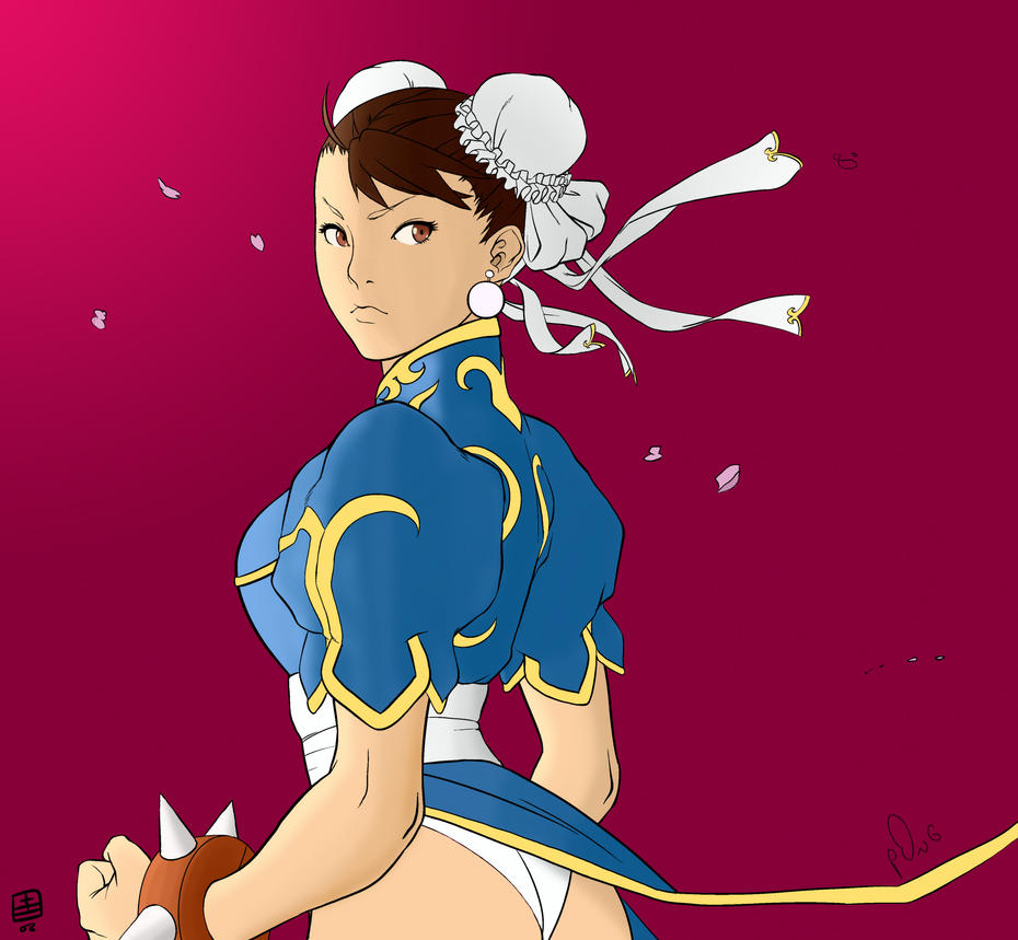 Chun-li colors by p0ngbr
